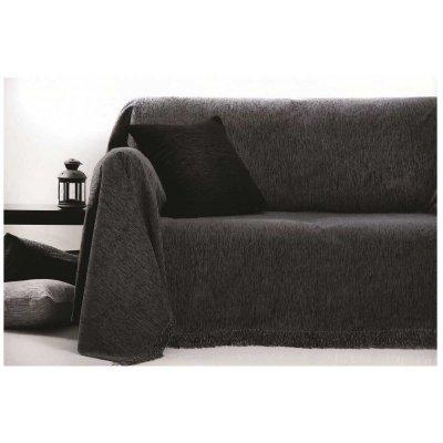 Ζεύγος Μαξιλαροθήκες Διακοσμητικές 45x45 - AnnaRiska - 1300 - Dark Gray / Γκρι Σκούρο | Διακοσμητικές Μαξιλαροθήκες | DressingHome