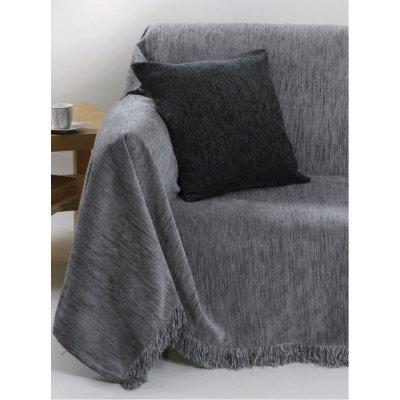 Ζεύγος Μαξιλαροθήκες Διακοσμητικές 45x45 - AnnaRiska - 1300 - Light Gray / Γκρι Ανοιχτό | Διακοσμητικές Μαξιλαροθήκες | DressingHome