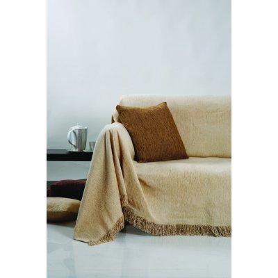 Ζεύγος Μαξιλαροθήκες Διακοσμητικές 45x45 - AnnaRiska - 1300 - Marron / Καστανό | Διακοσμητικές Μαξιλαροθήκες | DressingHome