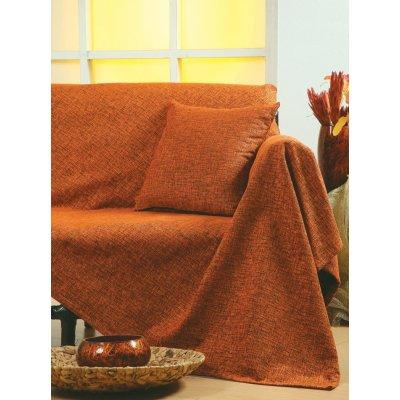 Ζεύγος Μαξιλαροθήκες Διακοσμητικές 45x45 - AnnaRiska - 1300 - Terracotta / Τερρακότα | Διακοσμητικές Μαξιλαροθήκες | DressingHome