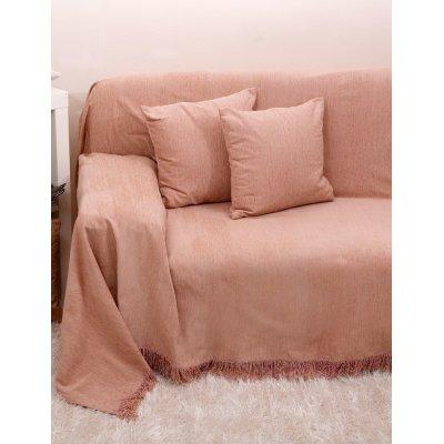 Ζεύγος Μαξιλαροθήκες Διακοσμητικές 45x45 - AnnaRiska - 1301 - Pink / Ροζ | Διακοσμητικές Μαξιλαροθήκες | DressingHome