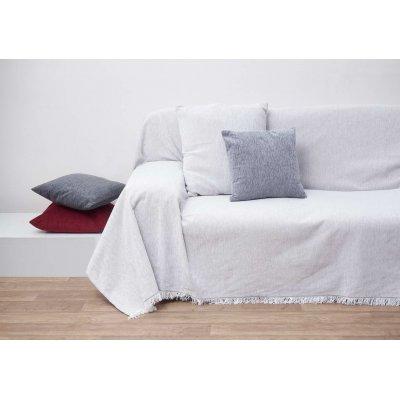 Ζεύγος Διακοσμητικές Μαξιλαροθήκες 45x45 - AnnaRiska - 1300 - Off White / Ζαχαρί | Διακοσμητικές Μαξιλαροθήκες | DressingHome